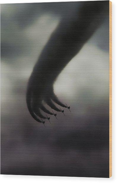 Hand Of God Wood Print