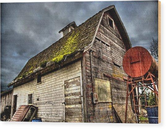 Handy Barn Wood Print