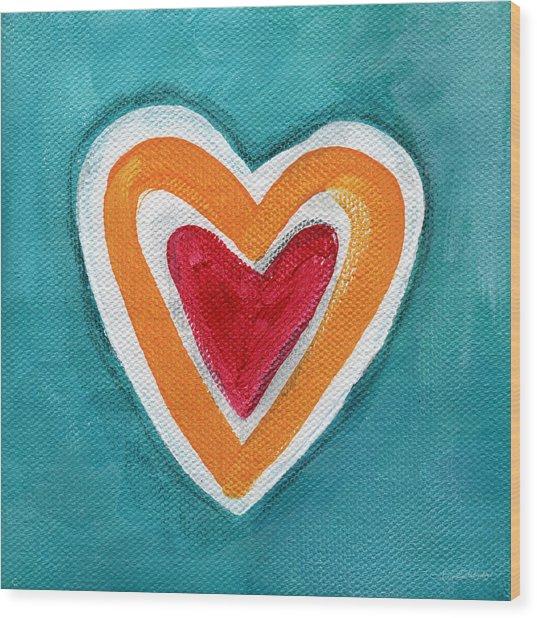 Happy Love Wood Print