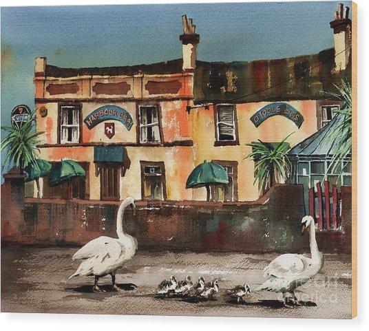 Harbour Bar,,, Bray Wood Print