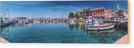 Harbour Life Izola Wood Print