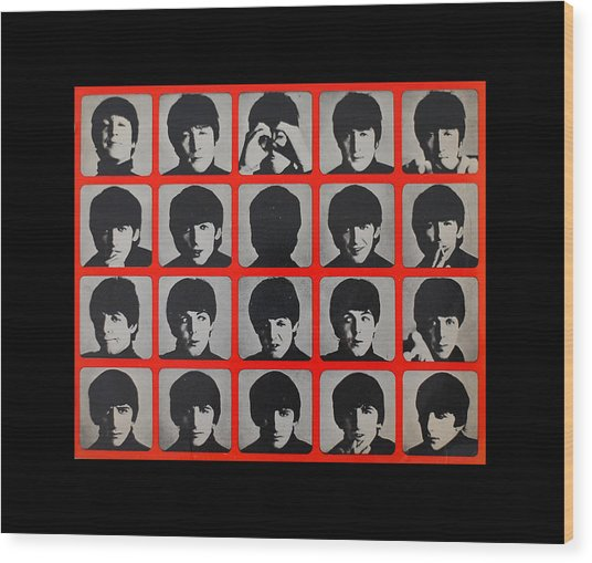 Hard Days Night Wood Print