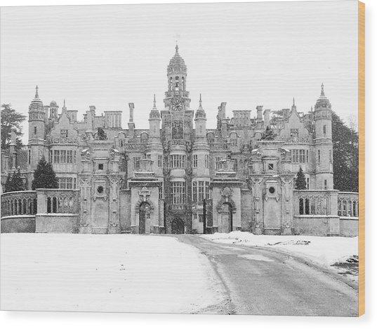 Harlaxton Manor Wood Print