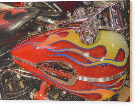 Harley-davidson  Wood Print