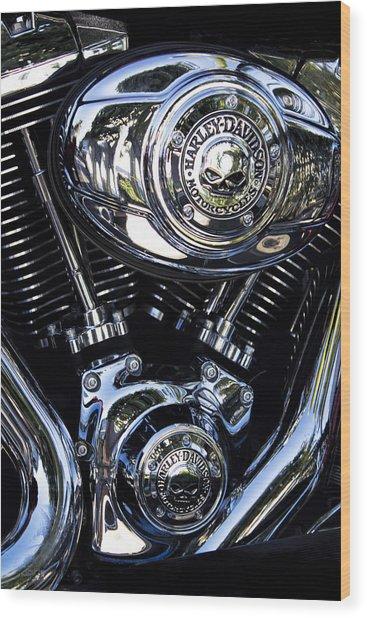 Harley Davidson Series 02 Wood Print