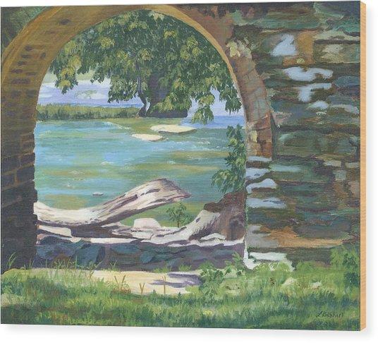 Harper's Arch Wood Print