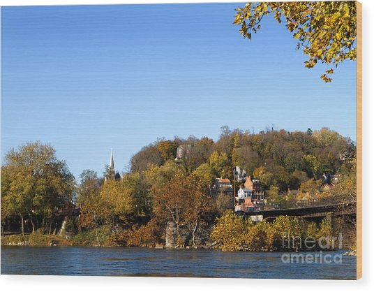 Harpers Ferry Wood Print
