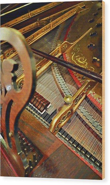 Harpsichord  Wood Print