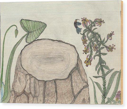 Harvested Beauty Wood Print