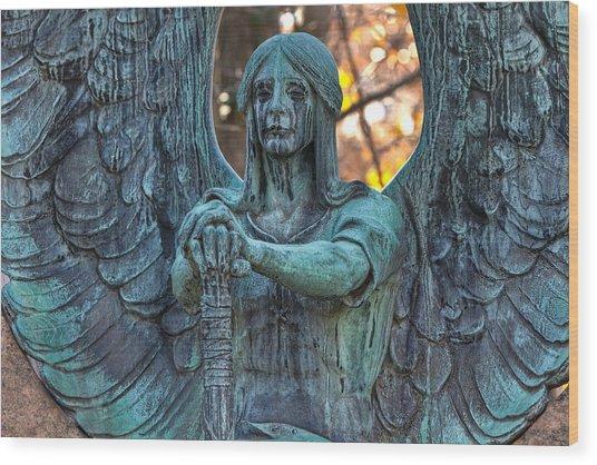 Haserot Angel Wood Print