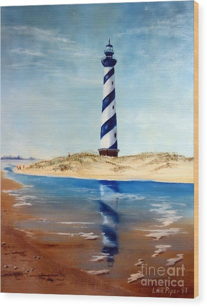 Hatteras Lighthouse Wood Print