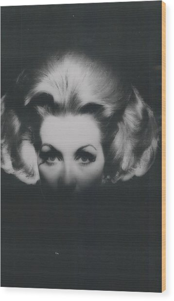 �haute-coiffire�  In Black And Whte Wood Print by Retro Images Archive