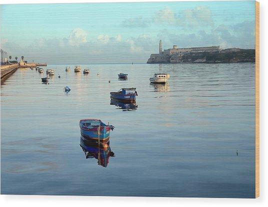 Havana Maritime 2 Wood Print