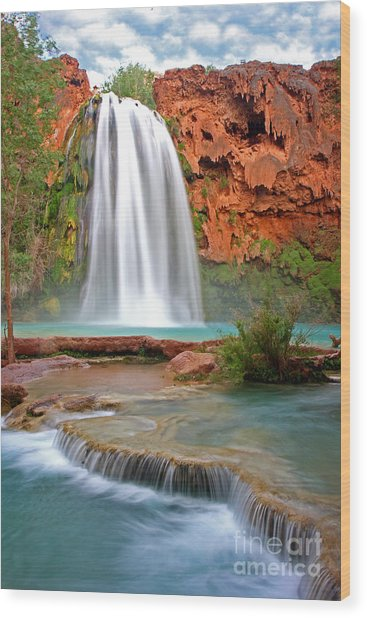 Havasu Falls Wood Print