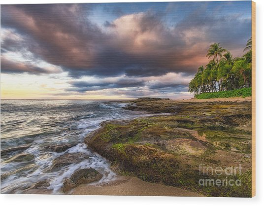 Hawaiian Dream Wood Print