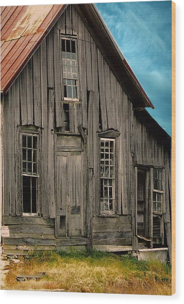 Shack Of Elora Tn  Wood Print