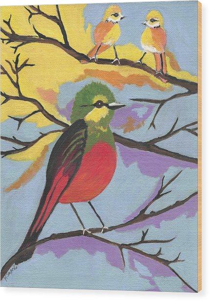He Aint That Tweet - Bird Art Wood Print