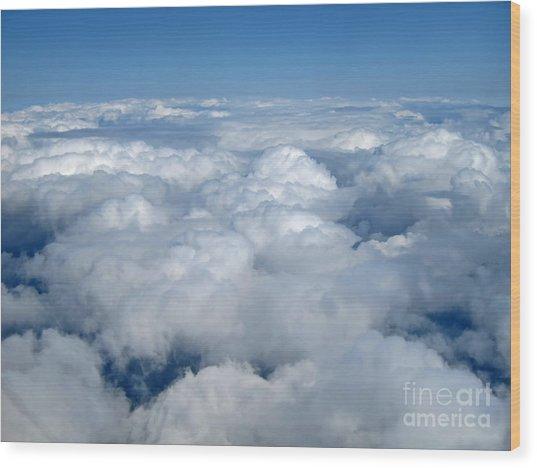 Head In The Clouds Art Prints Wood Print