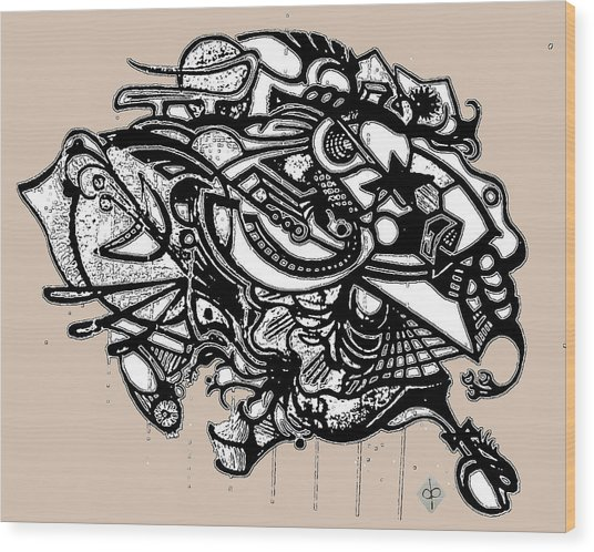 Headdress Wood Print