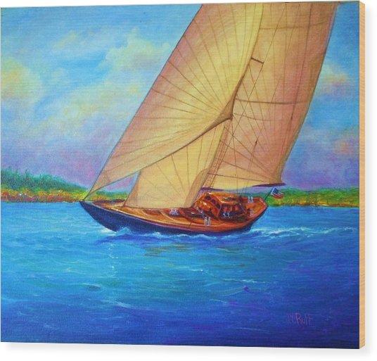 Heading Out Keehi Lagoon Wood Print by Joseph   Ruff