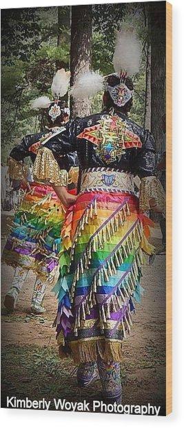 Healing Dress Wood Print