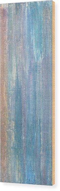 Healing Rain II Wood Print