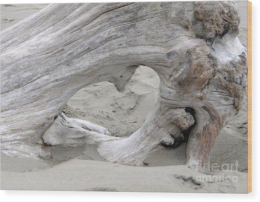 Heart Adrift Wood Print