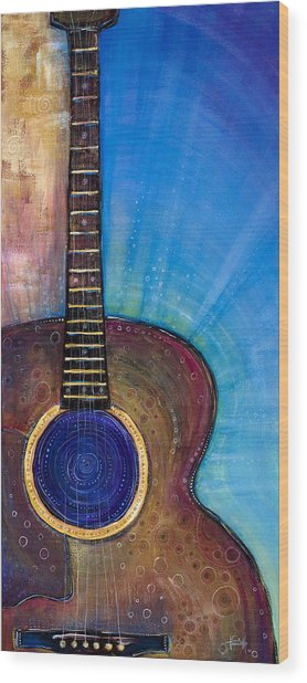 Heart Song Wood Print