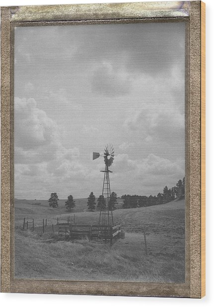 Heartland Memory Wood Print