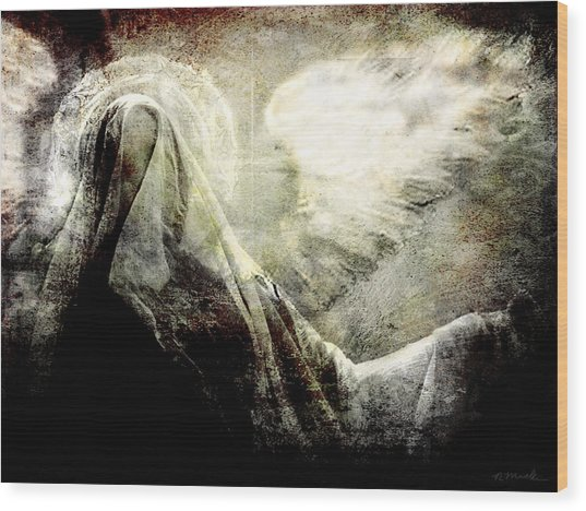 Heavens Shroud Wood Print