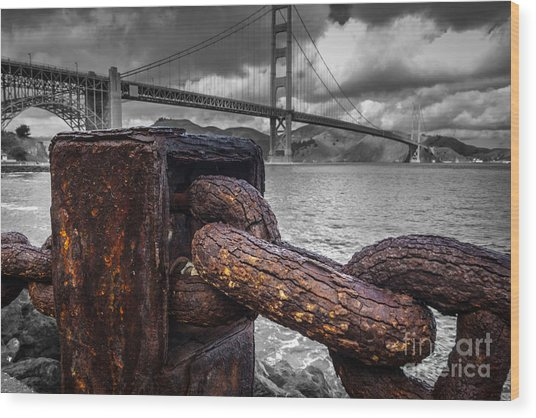 Heavy Rust Wood Print
