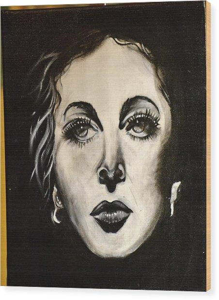 Hedi Wood Print