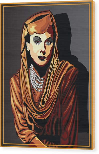 Hedy Lamarr  Hollywood The Golden Age Wood Print by Larry Butterworth