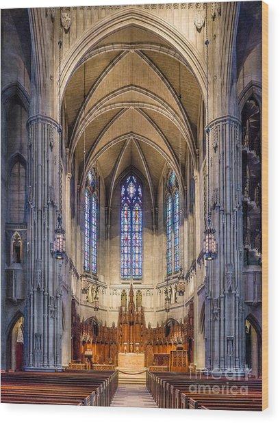 Heinz Chapel - Pittsburgh Pennsylvania Wood Print