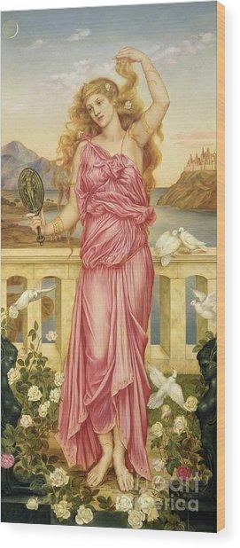 Helen Of Troy Wood Print