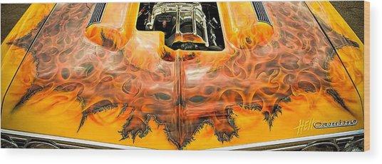 Hell Camino Wood Print