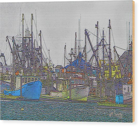 Helltown Wood Print