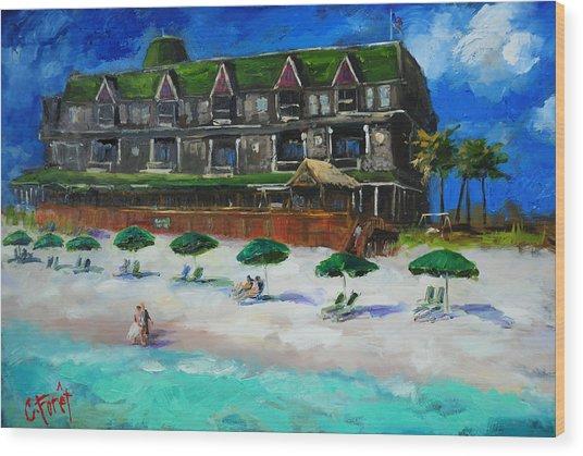 Henderson Inn Destin Florida Wood Print