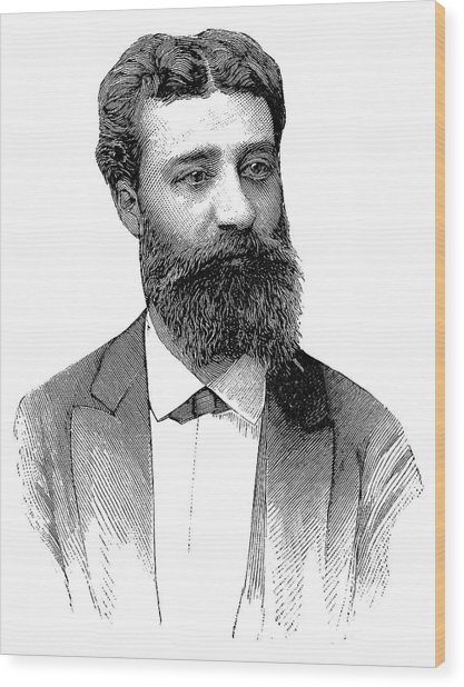 Henri Moissan Wood Print by Science Photo Library