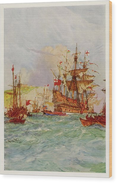 Henry Grace-a-dieu, Also Known Wood Print by Mary Evans Picture Library