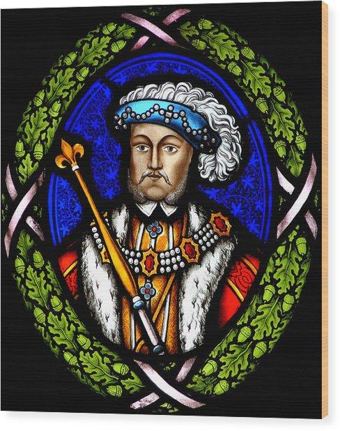 Henry Viii Wood Print