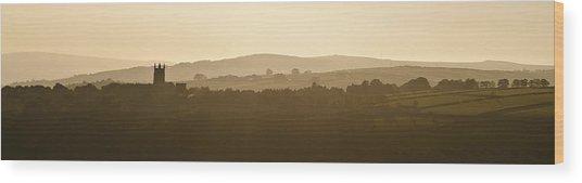 Heptonstall Wood Print