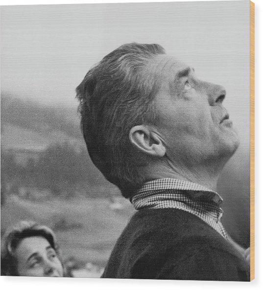 Herbert Von Karajan Wood Print