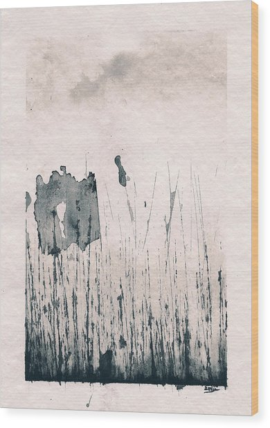 Herbes Souillees Wood Print
