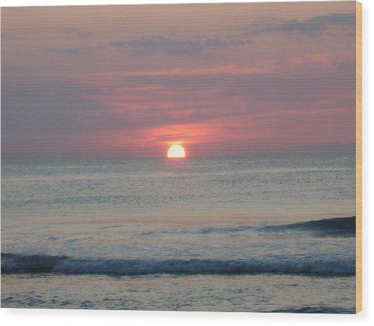 Here Comes The Sun Wood Print by Deborah May