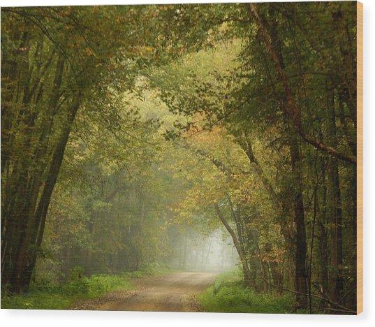 Here I Will Abide Wood Print