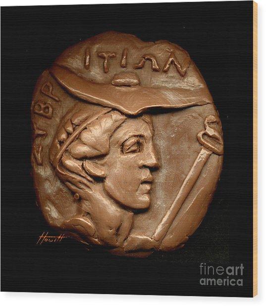Hermes Or Mercury Wood Print by Patricia Howitt