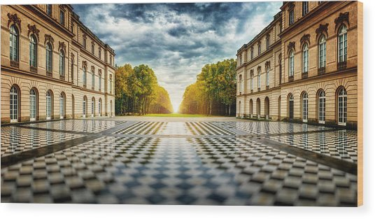 Herrenchiemsee Palace. Wood Print