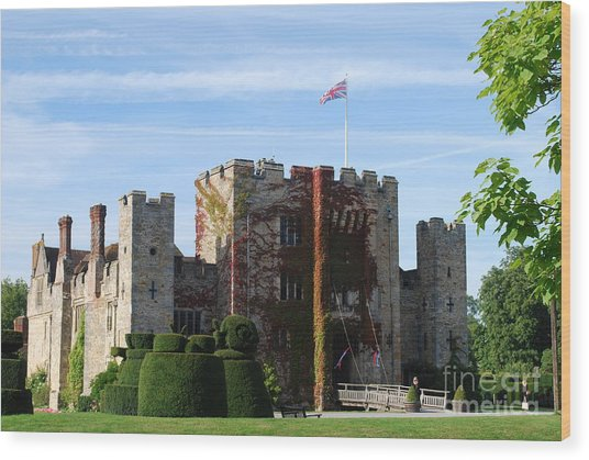 Hever Castle Wood Print