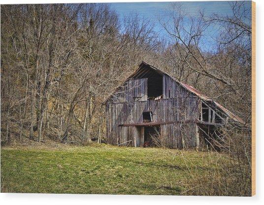 Hidden Barn Wood Print